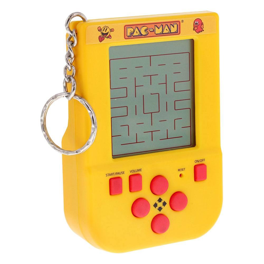 Pac-Man Mini Retro Handheld Video Game Keychain