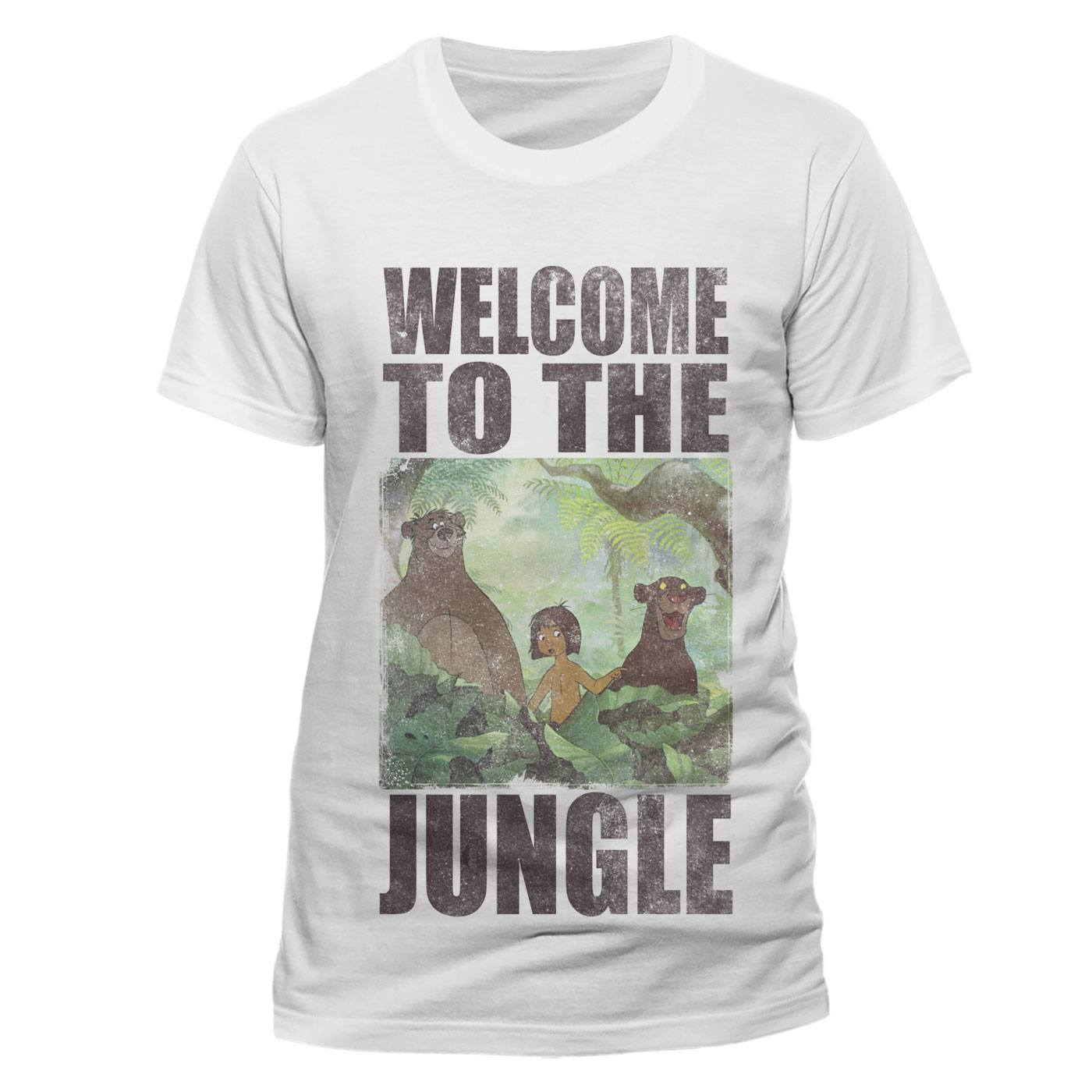 The Jungle Book T-Shirt Welcome To The Jungle Size XL