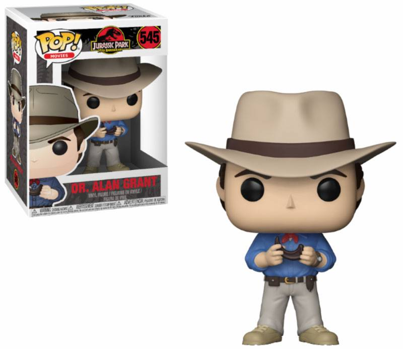 Jurassic Park POP! Movies Vinyl Figure Dr. Alan Grant 9 cm