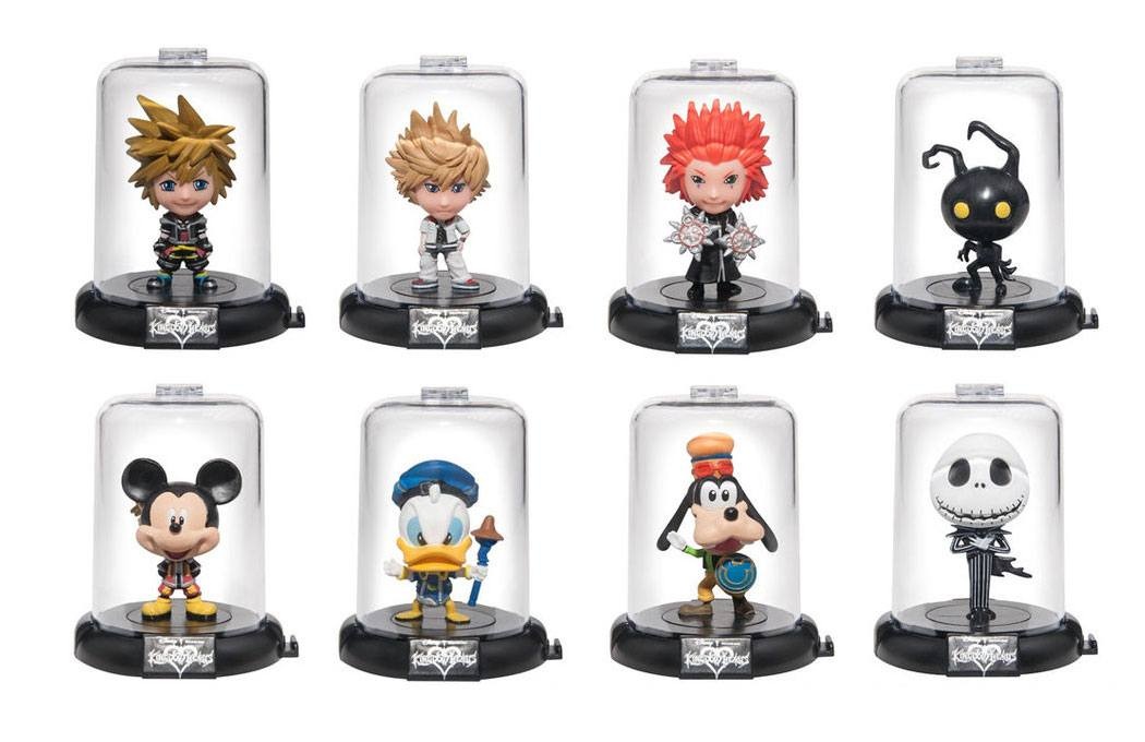 Kingdom Hearts Domez Mini Figures 7 cm Series 4 Display (24)