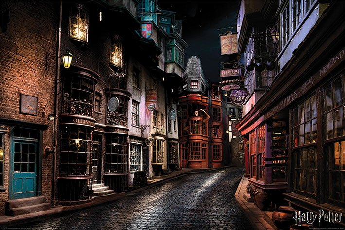 Harry Potter Poster Pack Diagon Alley 61 x 91 cm (5)