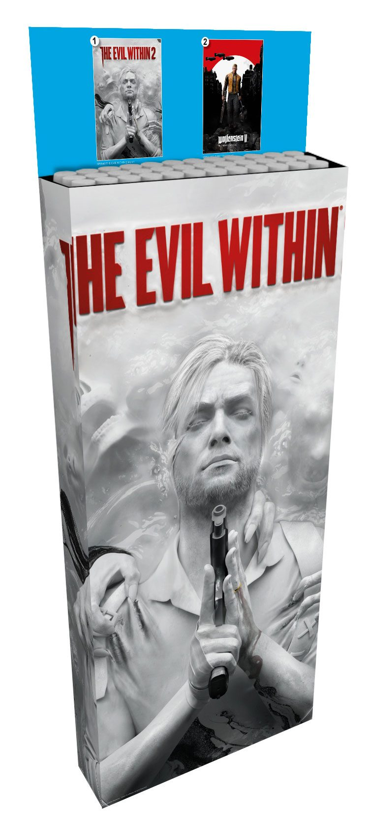 Evil Within 2 / Wolfenstein II Poster 61 x 91 cm Display (35)