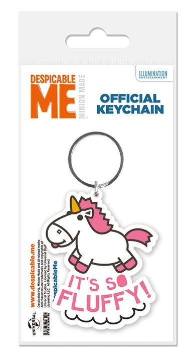 Despicable Me Rubber Keychain It's So Fluffy 6 cm