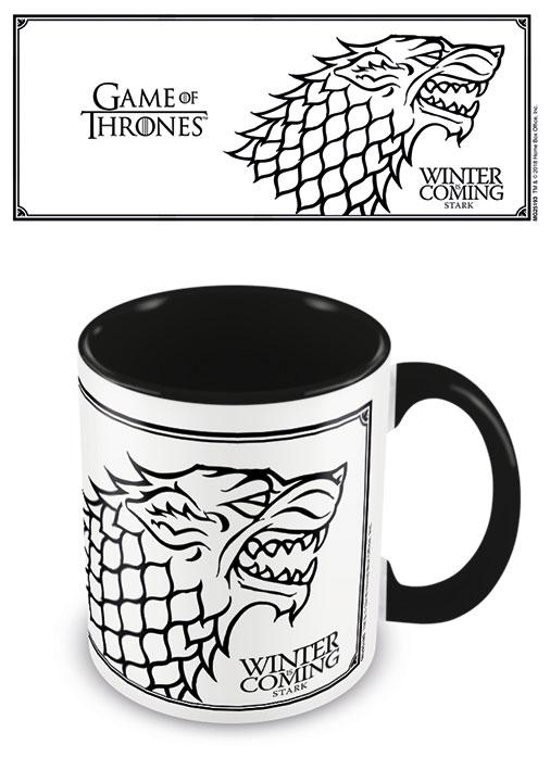 Game of Thrones Coloured Inner Mug Stark