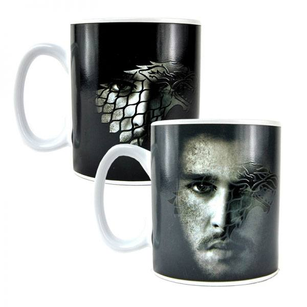 Game of Thrones Heat Change Mug Jon Snow
