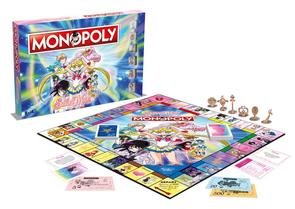 Sailor Moon Board Game Monopoly *French Version*