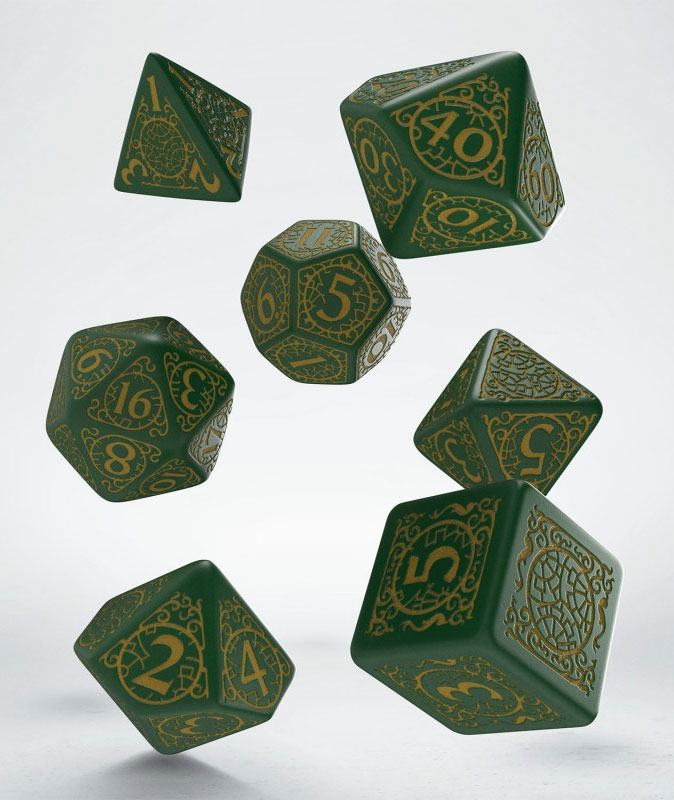 Pathfinder Dice Set Jade Regent (7)