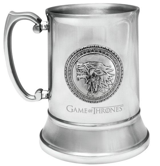 Game of Thrones Stainless Steel Stein Stark