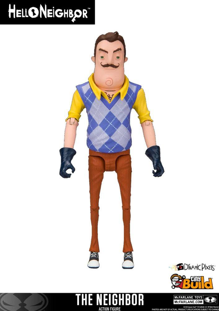 Hello Neighbor Action Figure The Neighbor 13 cm