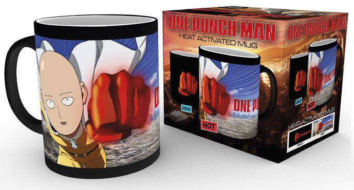 One Punch Man Heat Change Mug Saitama