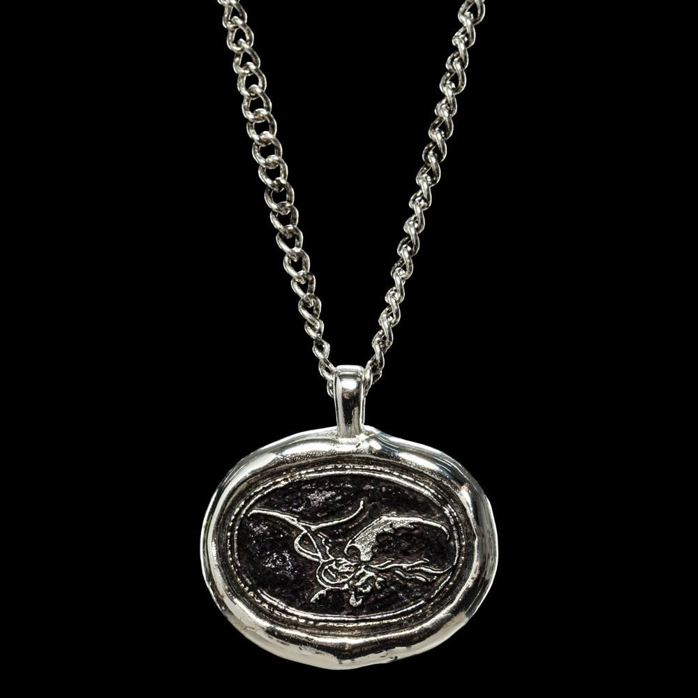 The Hobbit The Desolation of Smaug Pendant and Chain Smaug Wax Seal