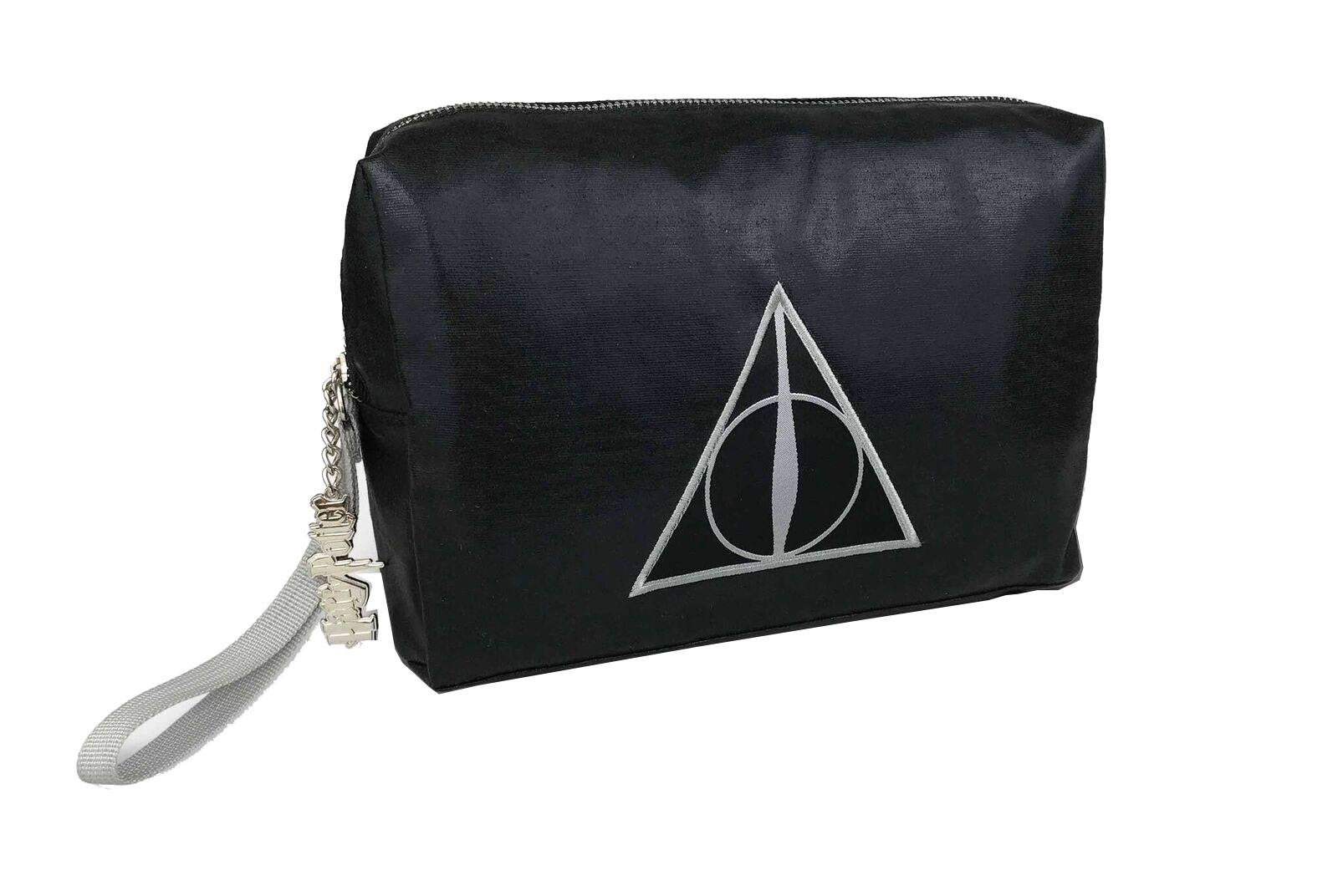 Harry Potter Wash Bag Shimmer Deathly Hallows