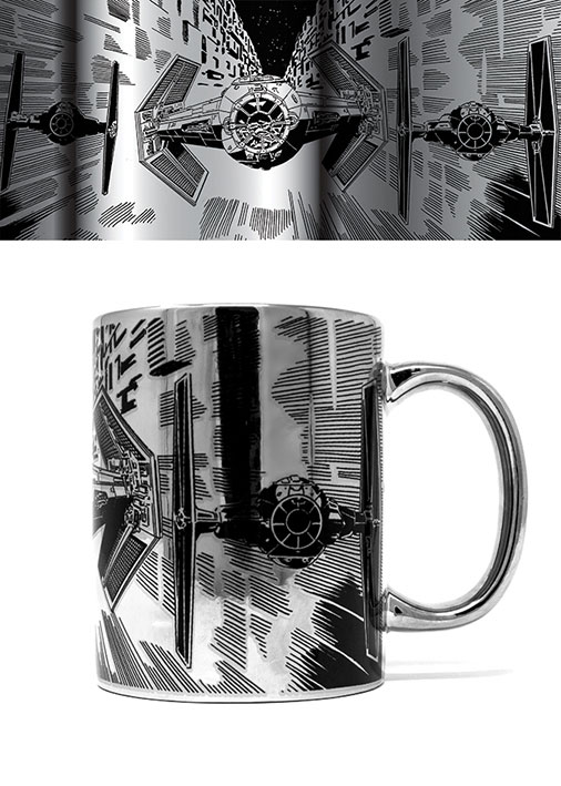 Star Wars Metallic Mug TIE Attack