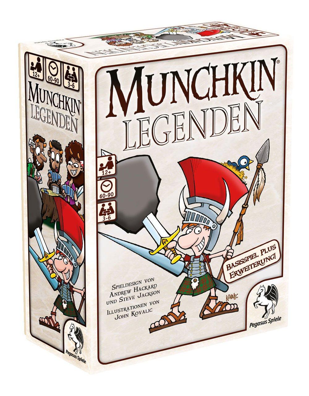 Munchkin Legenden Card Game 1+2 *German Version*