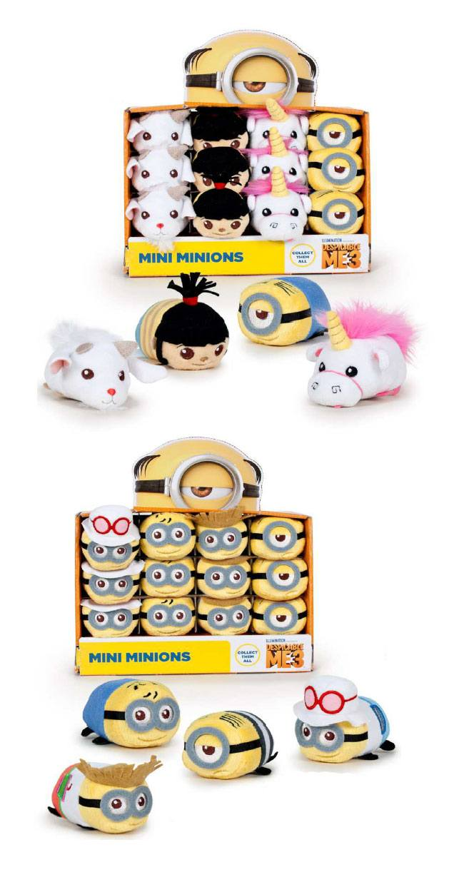 Despicable Me 3 Plush Figures 8 cm Assortment (24)