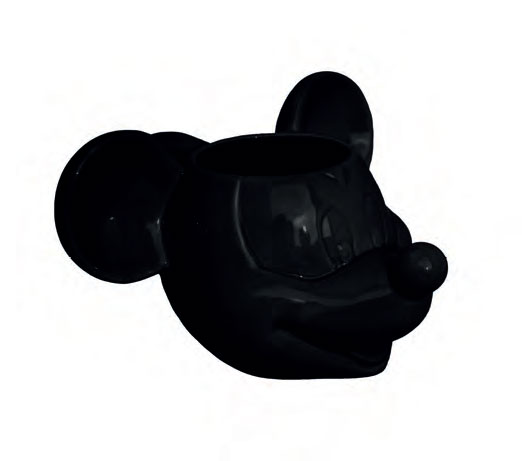 Mickey Mouse 3D Mug Black