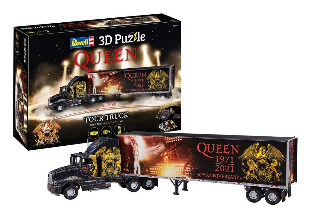 Queen 3D Puzzle Truck & Trailer