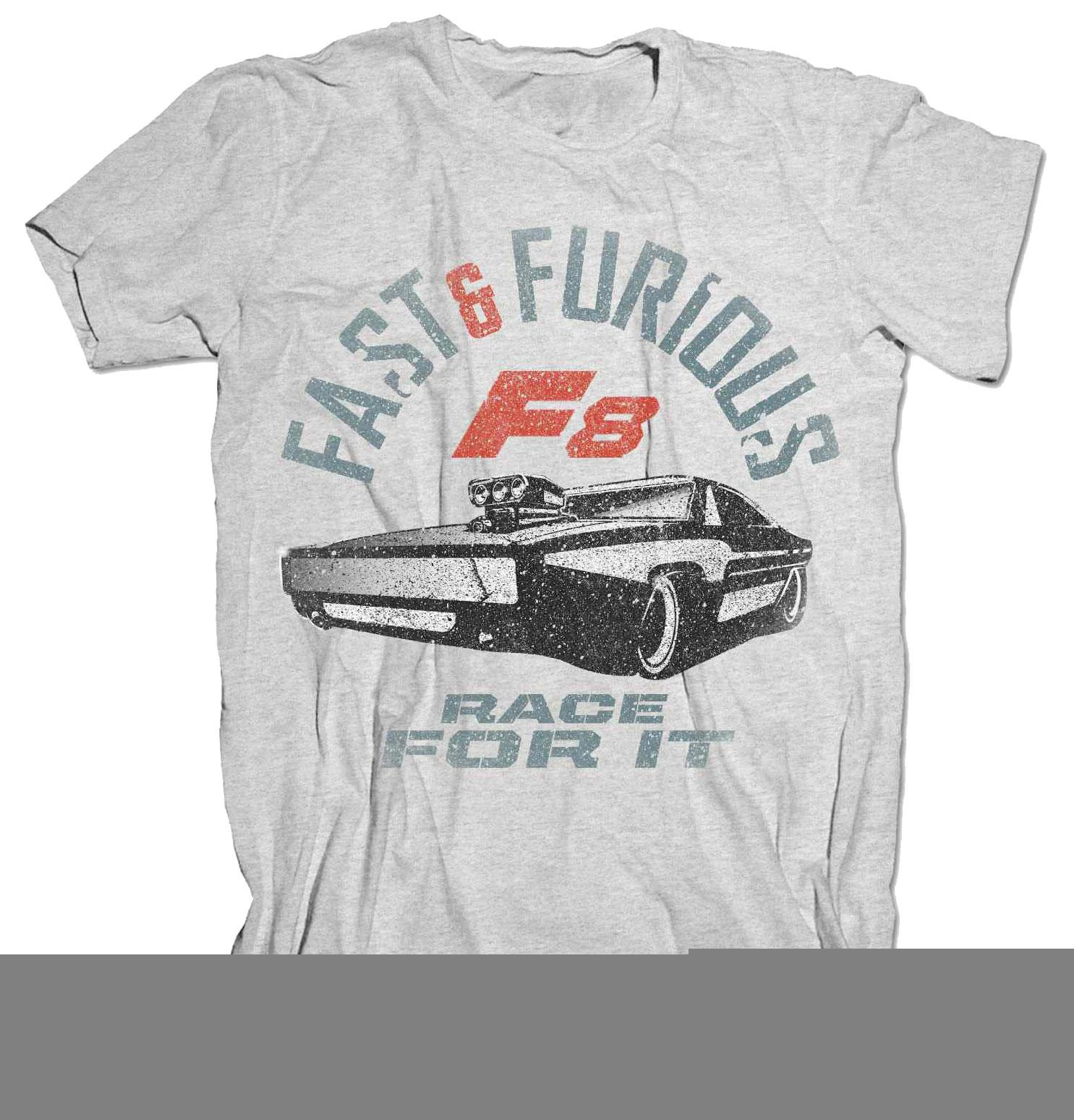 Fast & Furious 8 T-Shirt Race For It Size XL