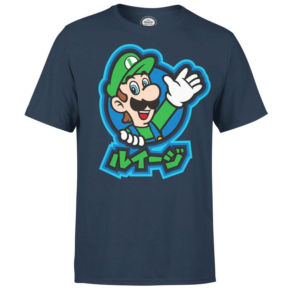 Nintendo T-Shirt Luigi Kanji Size XL