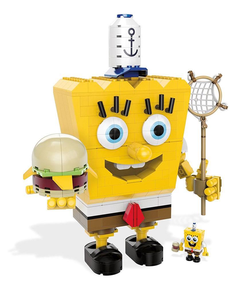 SpongeBob SquarePants Mega Bloks Construction Set SpongeBob