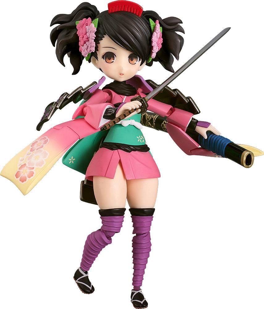 Muramasa: The Demon Blade Parfom Action Figure Momohime 14 cm