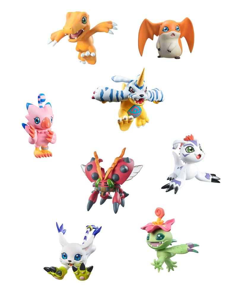 Digimon Adventure Digicolle! Series Trading Figure 5 cm Mix Assortment (8)