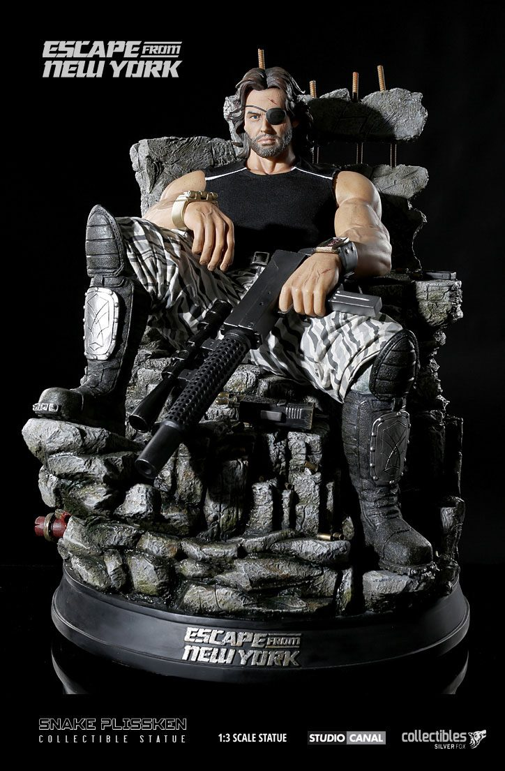 Escape from New York Statue 1/3 Snake Plissken 50 cm