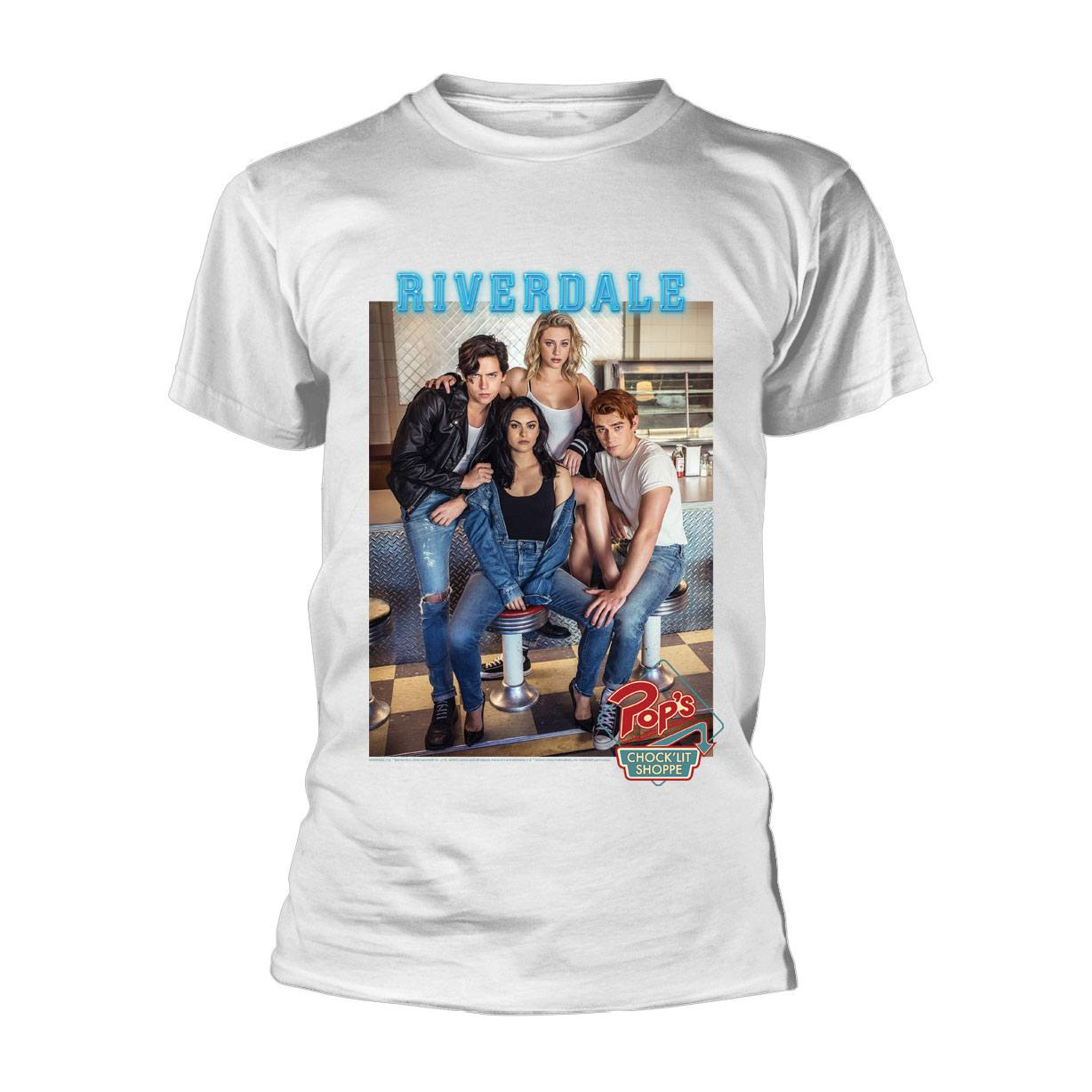 Riverdale T-Shirt Pops Group Photo Size XL