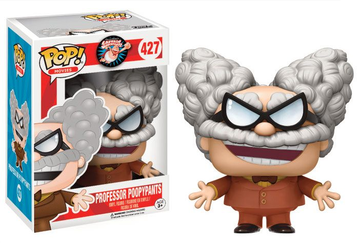 Captain Underpants POP! Movies Vinyl Figure Professor Poopypants 9 cm