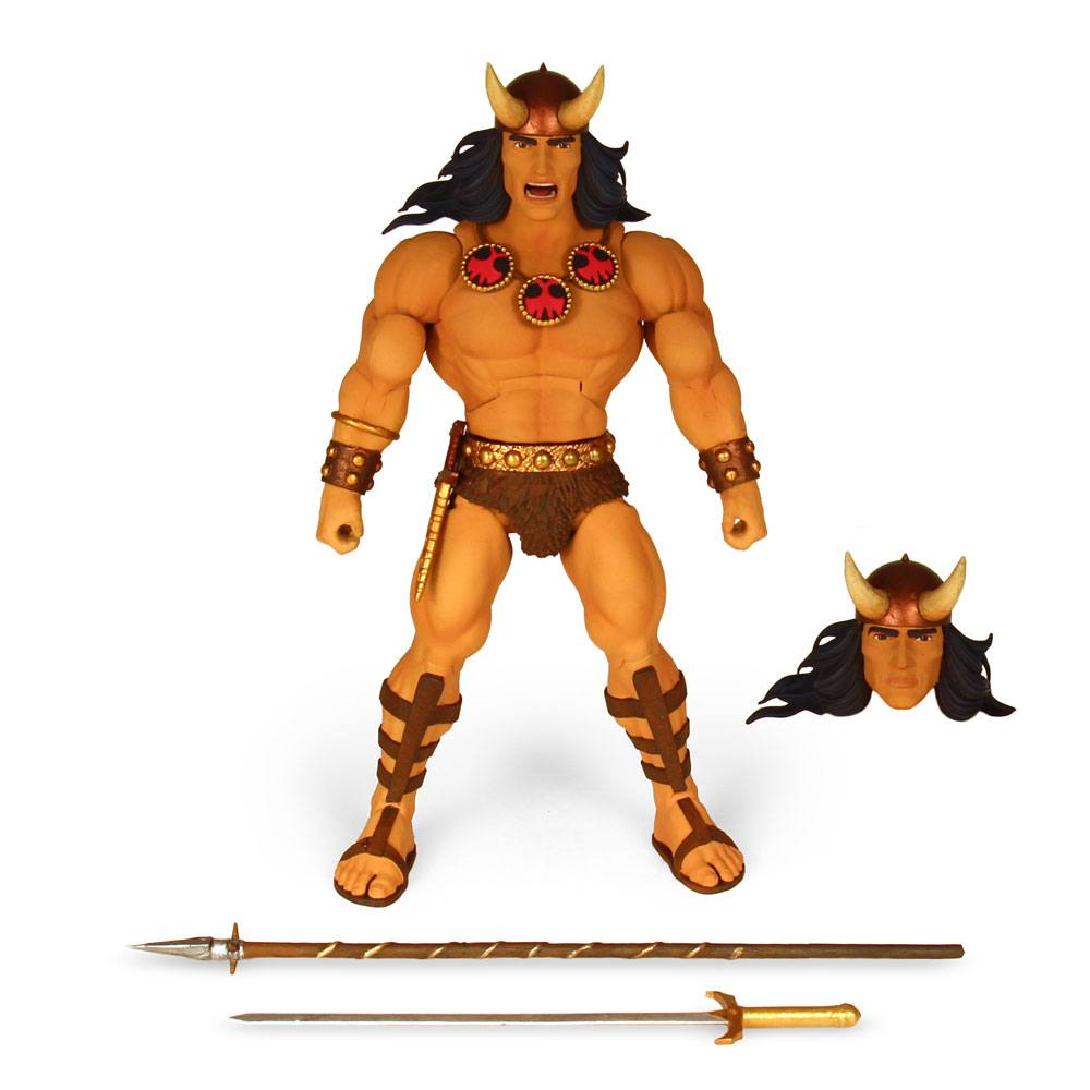 Conan the Barbarian Deluxe Action Figure Conan (Comic Book) 18 cm