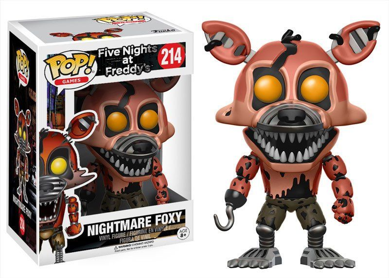 Five Nights at Freddy's POP! Games Vinyl Figure Nightmare Foxy 9 cm