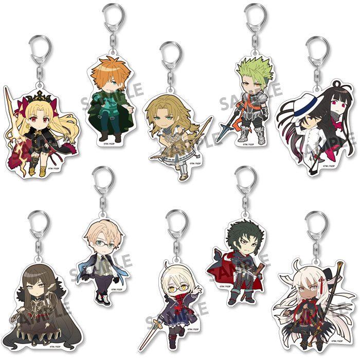 Fate/Grand Order Pikuriru! Keychain 8 cm Assortment Vol. 9 (10)