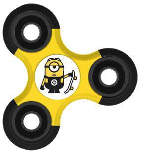 Despicable Me Fidget Spinner Minion Stuart