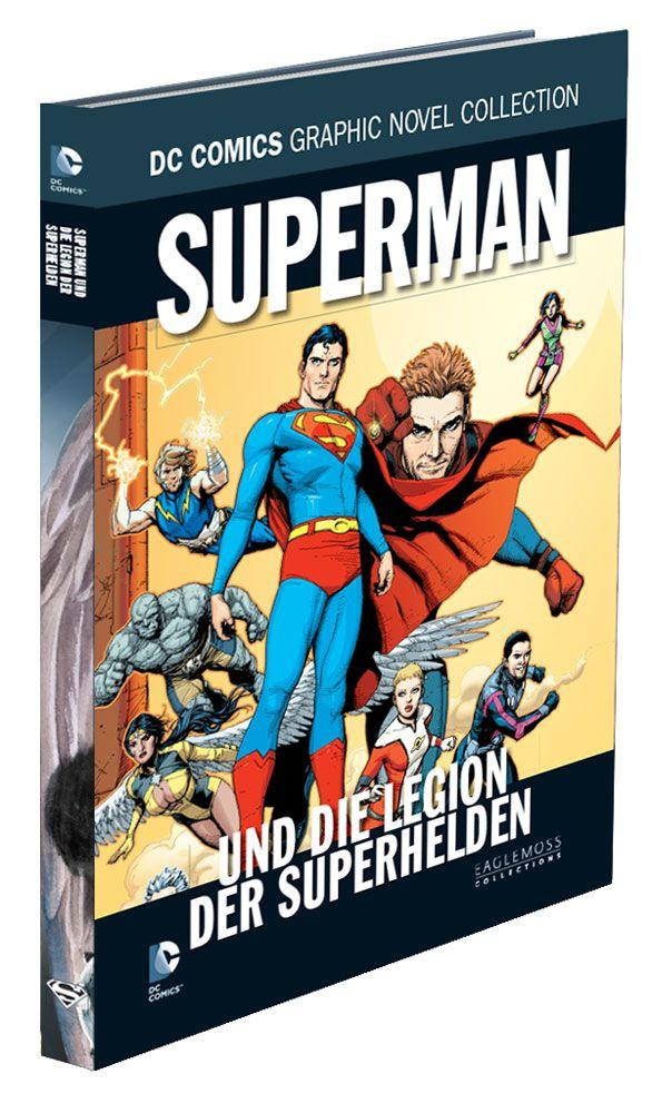 DC Comics Graphic Novel Collection #76 Superman und die Legion der ... Case (12) *German Version*