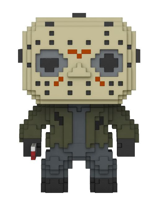 Friday the 13th 8-Bit POP! Horror Vinyl Figure Jason Voorhees 9 cm