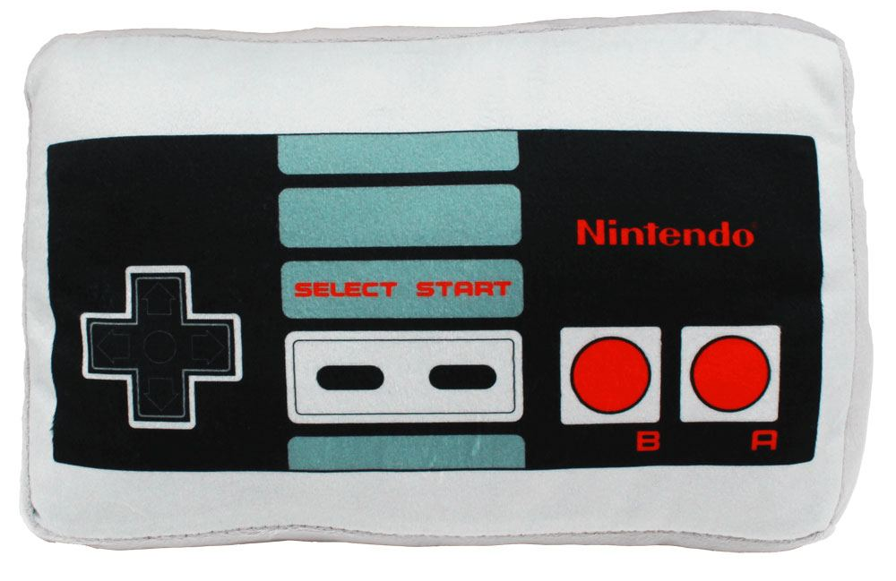 Nintendo Cushion NES Controller 30 x 20 cm