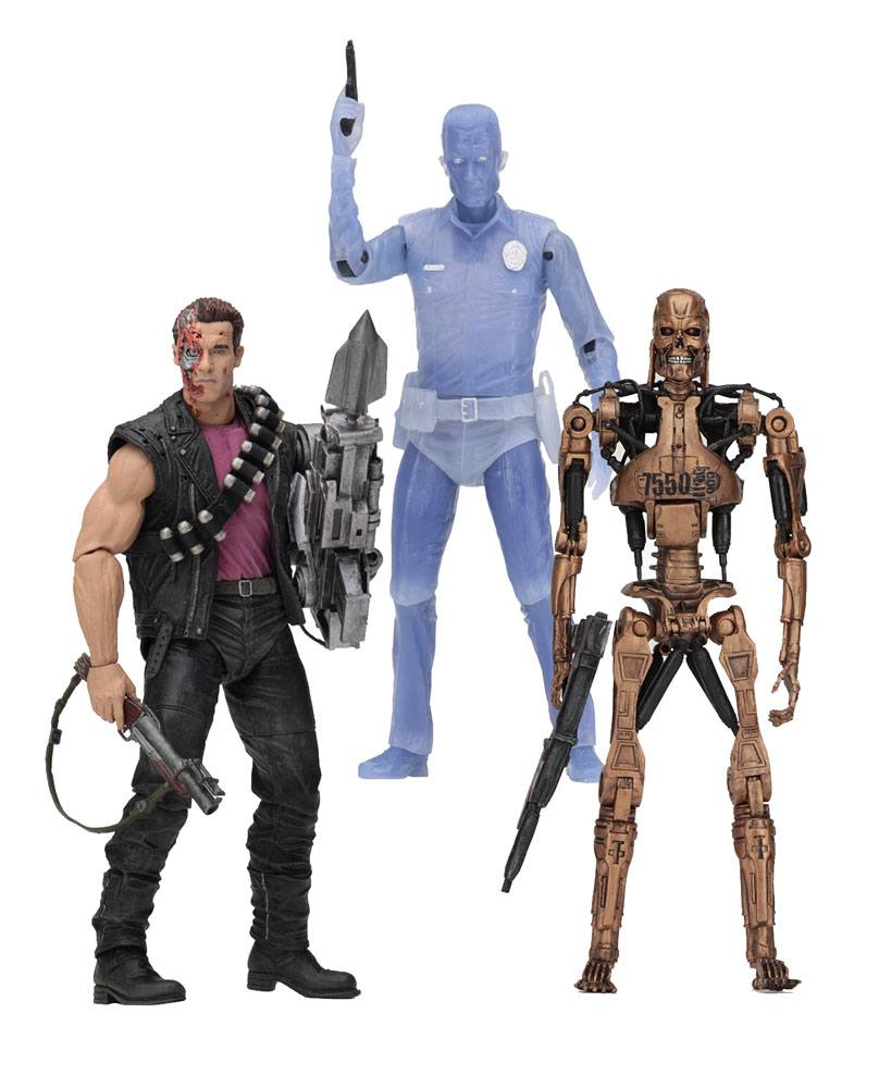 Terminator 2 Action Figures 18 cm Kenner Tribute Assortment (14)