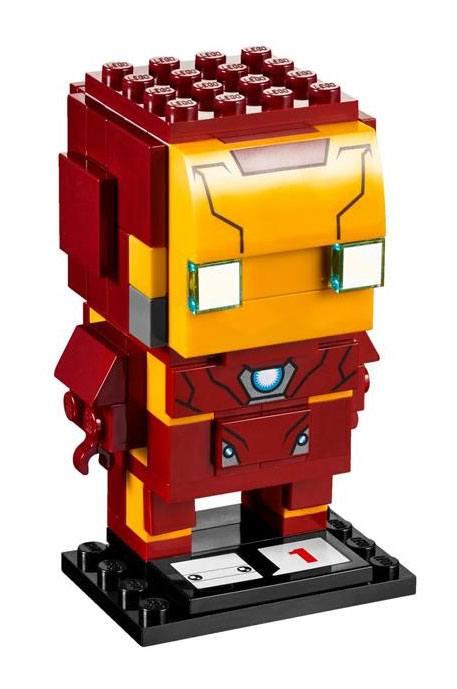 LEGO® BrickHeadz Captain America Civil War Iron Man