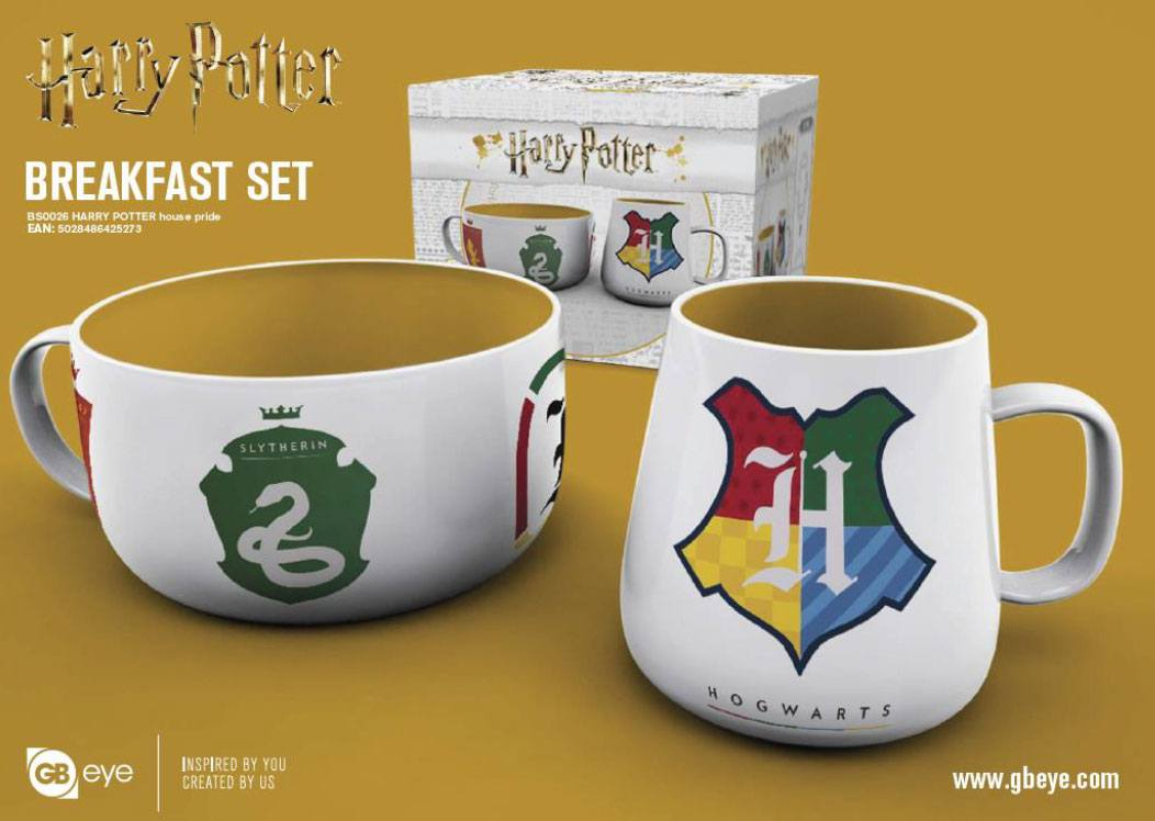 Harry Potter Breakfast Set House Pride
