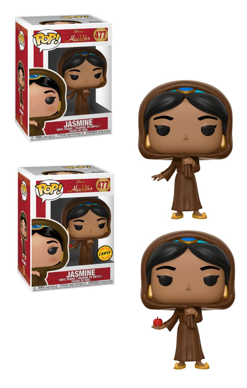 Aladdin POP! Vinyl Figures Jasmine in Disguise 9 cm Assortment (6)