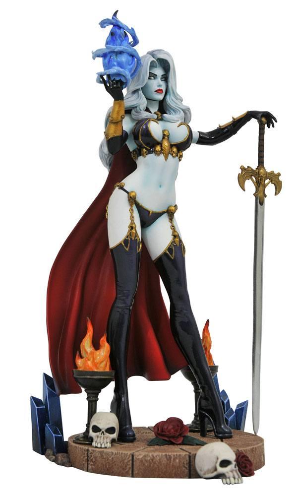 Femme Fatales PVC Statue Lady Death IV 23 cm