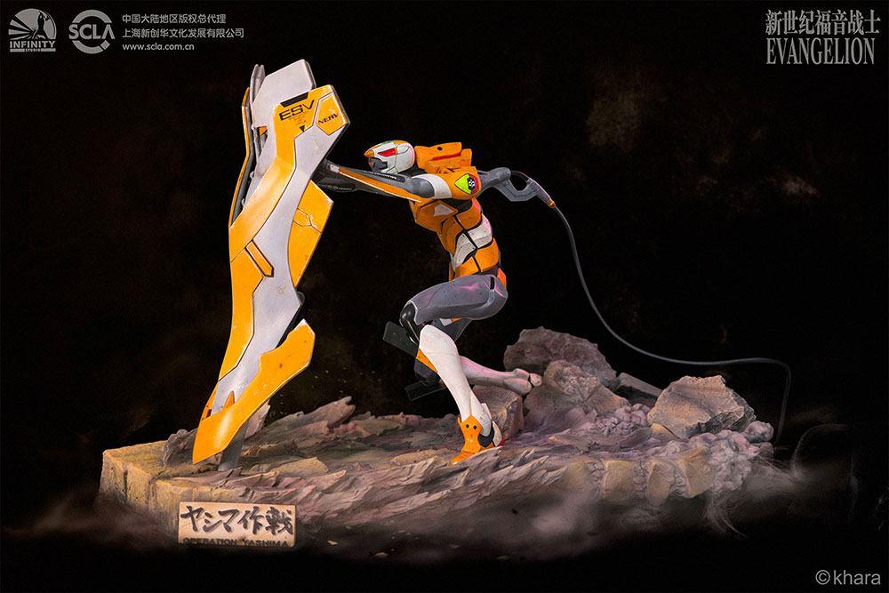 Neon Genesis Evangelion Statue EVA Unit-00 Prototype Operation Yashima 38 cm