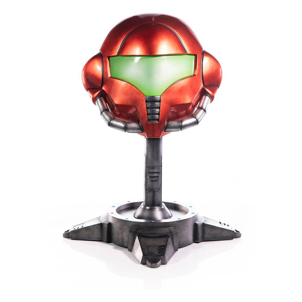 Metroid Prime Statue Samus Helmet 49 cm