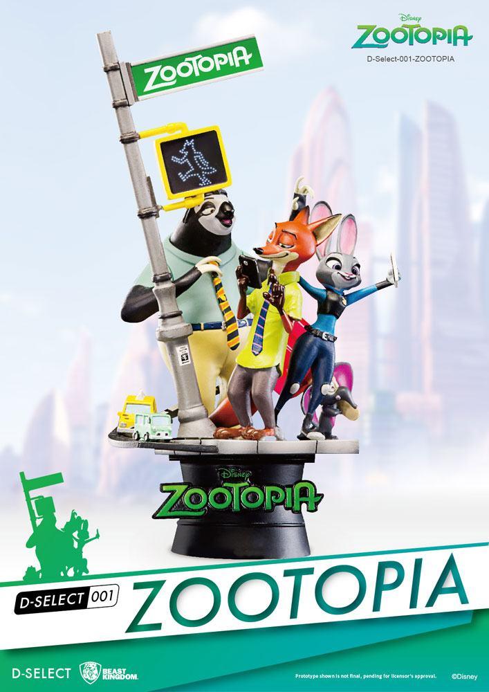 Zootopia D-Select PVC Diorama 16 cm