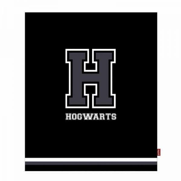 Harry Potter Fleece Blanket H for Hogwarts 125 x 150 cm