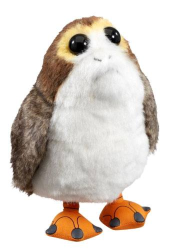 Star Wars Episode VIII Talking Plush Figure Porg 22 cm
