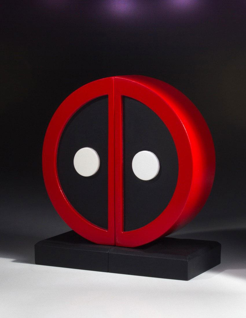 Marvel Comics Bookends Deadpool Logo 16 cm