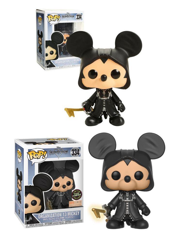Kingdom Hearts POP! Disney Figures Organization 13 Mickey 9 cm Assortment (6)