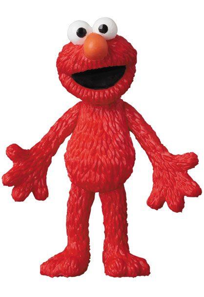 Sesame Street UDF Mini Figure Elmo 6 cm