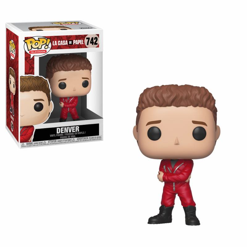 Money Heist POP! TV Vinyl Figure Denver 9 cm